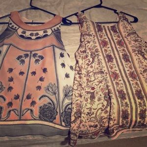 Long  camisoles very pretty on original  $99 each